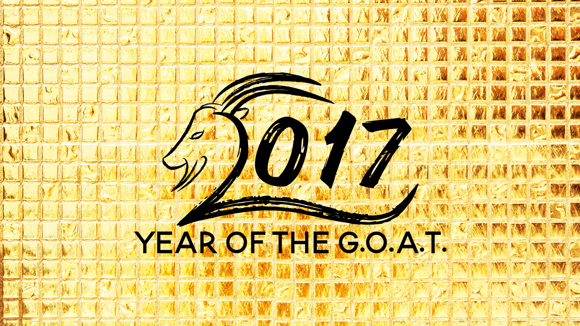 The Year of the G.O.A.T.